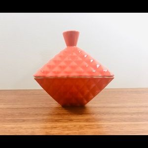 West Elm Covered Candy/Trinket Dish